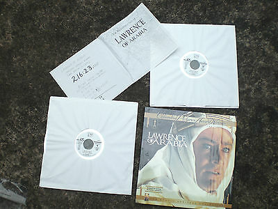 LAWRANCE of ARABIA NTSC laserdisc 2 discs