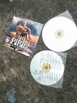 THE BIBLE NTSC laserdisc 2 discs