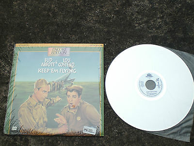 KEEP`EM FLYING  NTSC laserdisc