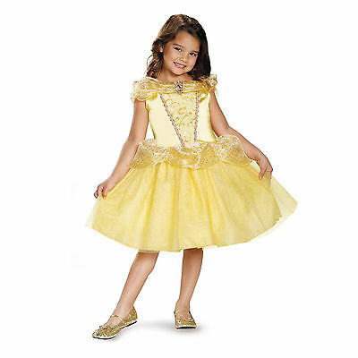 Disney Beauty and the Beast - Belle - Child Costume - New Style