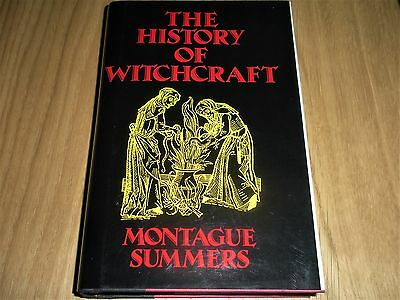 "Montague Summers ""the History Of Witchcraft"" The Mystic Press Rare Hardback Book"