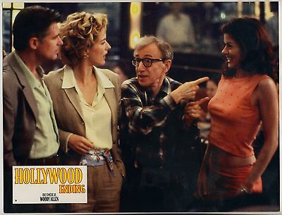 "WOODY ALLEN ""Hollywood Ending"" * Movie Still 2002 Aushangfoto"