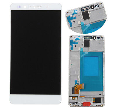 LCD Display Touch Screen Digitizer Assembly Glass For Huawei Honor 7 White Frame