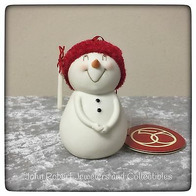 Dept 56 Snowpinions I've Been Really Really Good Snowman Ornament New
