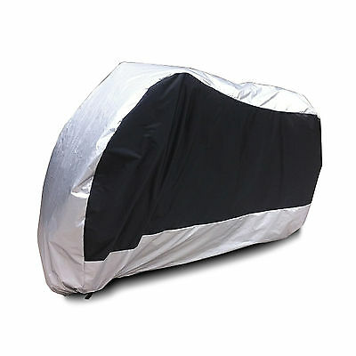 Cover Outdoor & Indoor Motorbike Scooter Motorcycle Large Rain Protector