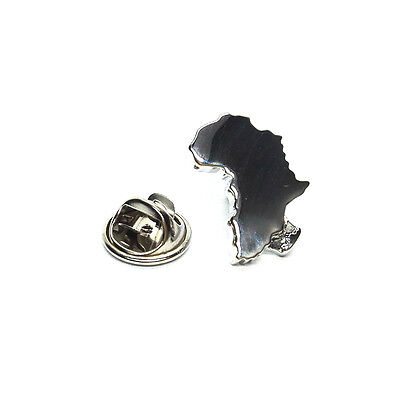 Africa Outline Map Lapel Pin Badge Tie Pin Gift For Him