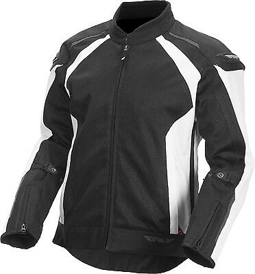 Fly Racing 477-40563X Coolpro Jacket 3XL White/Black