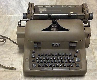 IBM Executive Typewriter Model 41C - Sold As-Is for Parts or Repair