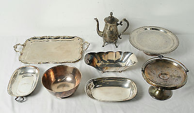 Vintage Silverplate Mixed Reed & Barton Meriden WMA Rogers Serving Lot