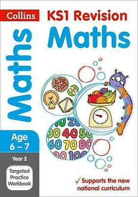 Year 2 Maths SATs Targeted Practice Workbook by Collins KS1 9780008179007