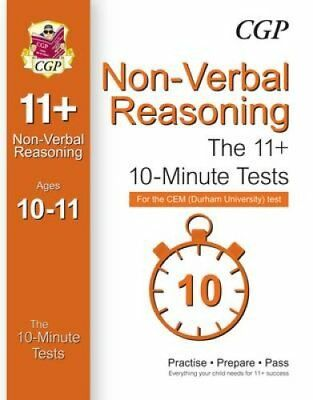10-Minute Tests for 11+ Non-Verbal Reasoning (Ages 10-11) - CEM... 9781782942603