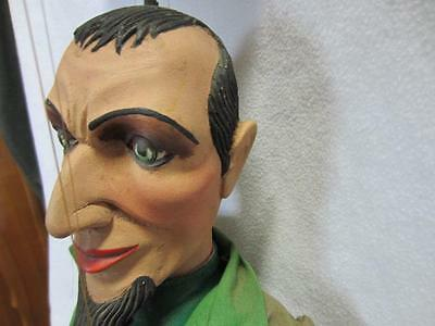 """c1900's Museum quality fantastc  WOOD carved  ARTICULATED PUPPET/DOLL 50"""""""