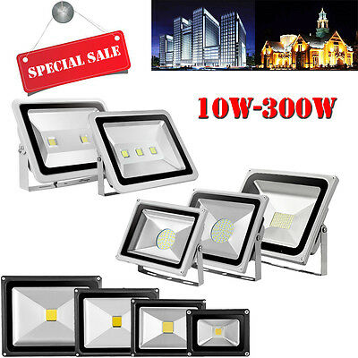 10W-300W Warm Cool WhIte LED SMD Flood Light Outdoor Security Lamp AC 220V-240V