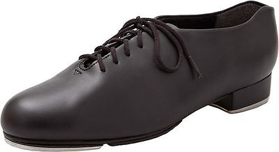 capezio 443 wide tic tap toe mens boys tap shoes black teletone heel & toe taps