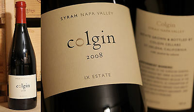 2008er IX Syrah Estate - Colgin  -  BLOCKBUSTER !!!!!!