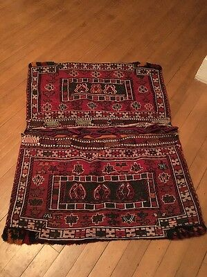 Arabic Camel Cargo Large Saddle Blanket Middle Eastern Handmade