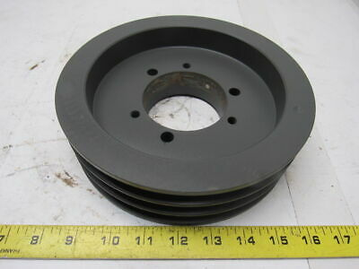 "T.B. Woods 5V853 3 Grove 8.50"" Pulley/Sheave SF Bushed Bore"