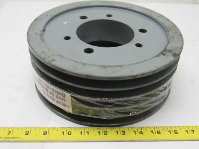 "55V9.75 5 Grove 9-3/4"" Pulley/Sheave SF Bushed Bore"