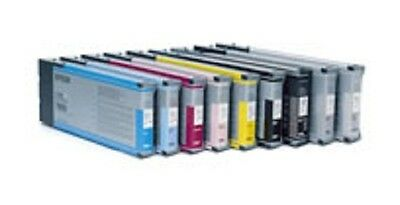 8 x Ink Cartridge for Epson Stylus Pro 9800 7800 JE 220ml Pigment Ink