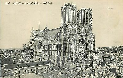 Cp Reims Cathedrale Nd 15967