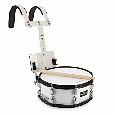 14'' X 5.5'' Marching Snare Drum with Carrier by Gear4music