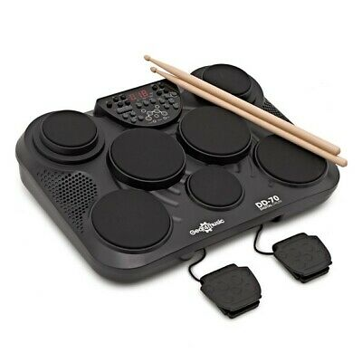 DD70 Portable Electronic Drum Pads by Gear4music