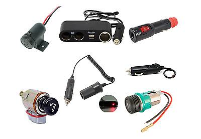 Universal 12 Volt Lighter Socket Aux power extension lead Power Point Car usb