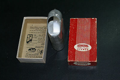 Vintage 1950s ADMIRAL Slide/ Light Viewer in Original Box