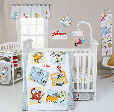 Trend Lab Dr. Seuss Friends 5 Piece Crib Bedding Set CHOOSE 5 / 6 PC Set
