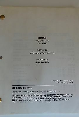 Seinfeld Tv Show Script Episode The Gymnast Table Draft