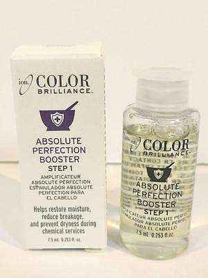 ION Color Brilliance Absolute Perfection Booster Step 1 (7.5ml) Hair Moisturizer