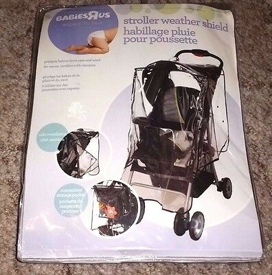 NEW Babies R Us Stroller Rain Cover Weather Shield OOS Out of Stock