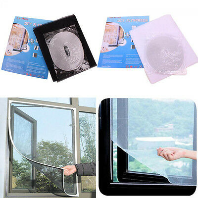 Summer Removable DIY Mosquito Screen Curtain Window Mesh Net Anti-Insect Fly