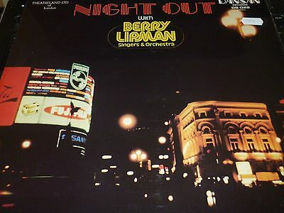 Berry Lipman Singers & Orchestra Night Out Vinyl LP DANSAN DS022 5/47