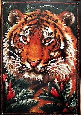 "Mcg Textiles Latch Hook  Rug   Kit "" Jungle Tiger"""