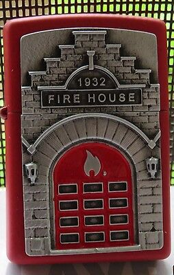 Zippos 2017 Spring Edition (1932 Fire House) Emblem Lighter -New In Box-