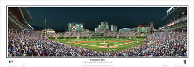2015 Chicago Cubs Wrigley Field Stadium Unframed Panoramic Poster #2105
