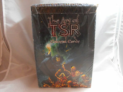 The Art Of Tsr Colossal Cards Trading Cards Sealed Box Of 18 Packs