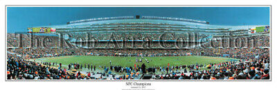 Chicago Bears Win NFC Championship Soldier Field Unframed Panoramic Poster 1057