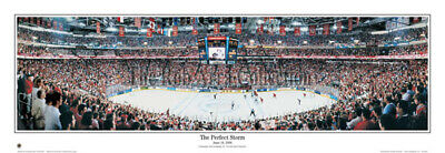 best sneakers ce991 edf9f Carolina Hurricanes Stanley Cup Perfect Storm Unframed Panoramic Poster 4031