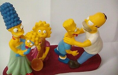 Simpsons limited edition figure set.see pictures