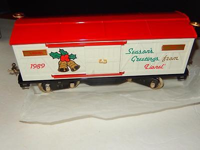 Lionel Classics- Standard Gauge- 13601- 1989 Tinplate Christmas Car -Mint