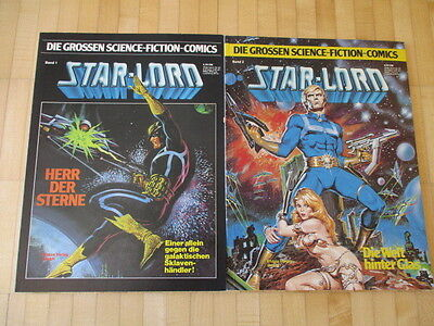 Die grossen Science Fiction Comics 1 + 2 Starlord  - Ehapa  TOP Z 0-1