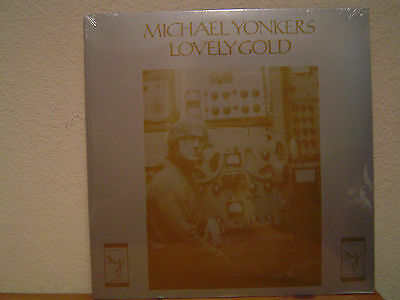 MICHAEL YONKERS Lovely Gold LP/Previously unreleased 1977 recordings/Loner Folk
