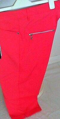 Ladies Golf Capri Trousers By Jrb Golf-Size 12-Sale Item-Last One-Now Only 19.99