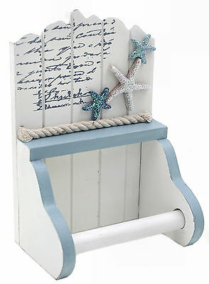 Nautical Theme Toilet Roll Holder with Starfish (63019)