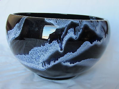 """Blue Mountain Pottery Large Bowl Granite BMP Canada 8.5"""""""