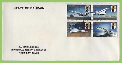 Bahrain 1976 Inaugural Flight Concorde Flight First Day Cover