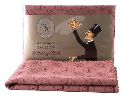 Large Town Talk Gold Jewellery Polishing Cloth - Make your jewellery sparkle