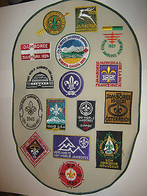 Scouts Canada World Jamboree Badges - Special Limited Edition 443/1000
